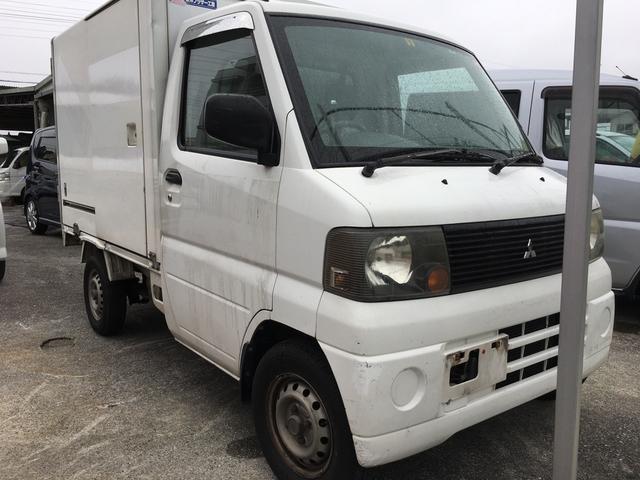沖縄の中古車 三菱 ミニキャブトラック 車両価格 19万円 リ済込 2004(平成16)年 15.8万km ホワイト
