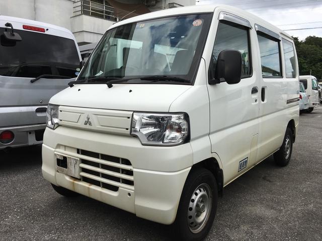 沖縄県の中古車ならミニキャブバン 4WD Wエアバッグ ABS エアコン パワーステアリング
