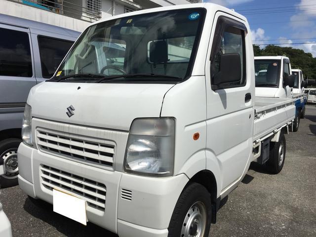 沖縄県の中古車ならキャリイトラック 平床ボディ エアコン オートマ