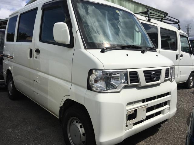 沖縄の中古車 日産 クリッパーバン 車両価格 21万円 リ済込 平成24年 17.7万km ホワイト