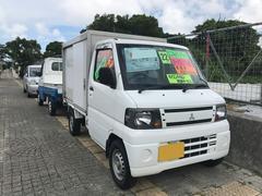 沖縄の中古車 三菱 ミニキャブトラック 車両価格 21万円 リ済込 平成22年 19.9万K ホワイト