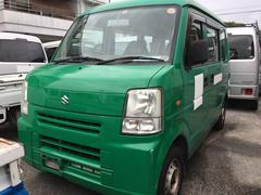 沖縄の中古車 スズキ エブリイ 車両価格 19万円 リ済込 平成20年 13.2万K グリーンM