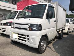 沖縄の中古車 三菱 ミニキャブトラック 車両価格 21万円 リ済込 平成22年 18.2万K ホワイト