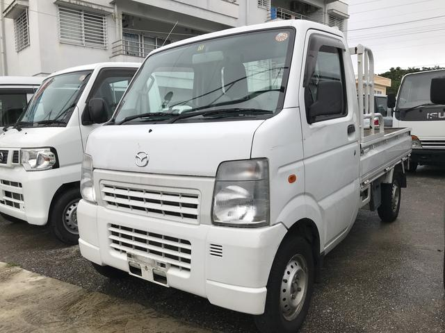 沖縄県の中古車ならスクラムトラック AC AT 軽トラック ホワイト PS