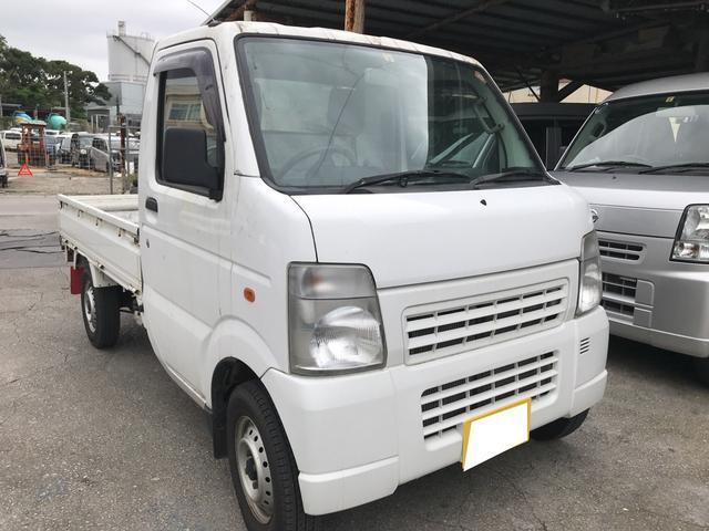 沖縄の中古車 マツダ スクラムトラック 車両価格 23万円 リ済込 平成23年 19.4万km ホワイト