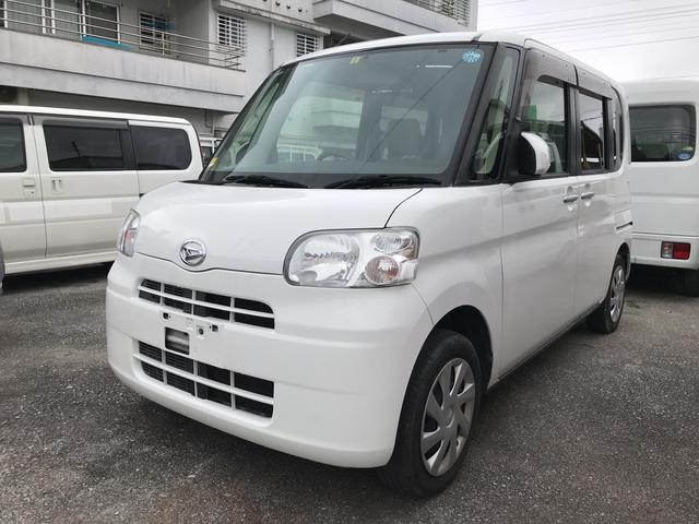 沖縄の中古車 ダイハツ タント 車両価格 19万円 リ済込 2012(平成24)年 22.0万km ホワイト