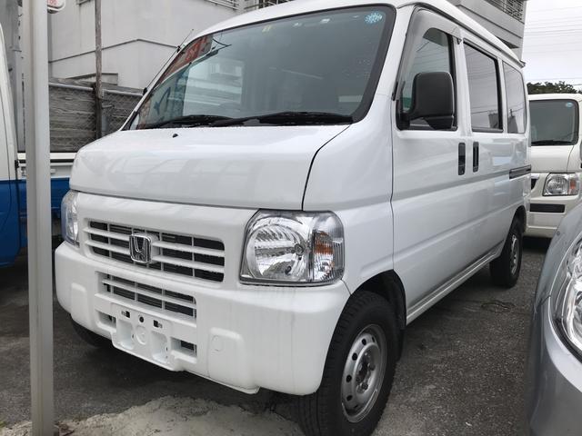 沖縄の中古車 ホンダ アクティバン 車両価格 19万円 リ済込 平成25年 24.8万km ホワイト