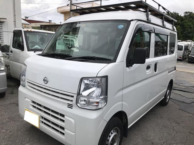 沖縄県沖縄市の中古車ならNV100クリッパーバン DX GLパッケージ フル装備 5MT
