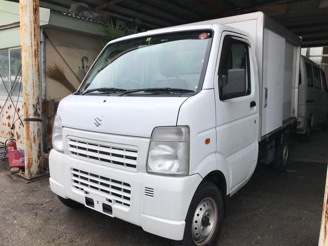 沖縄県の中古車ならキャリイトラック オートマ 保冷車 エアコン パワステ