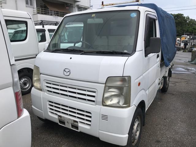 沖縄の中古車 マツダ スクラムトラック 車両価格 25万円 リ済込 2007(平成19)年 11.8万km ホワイト