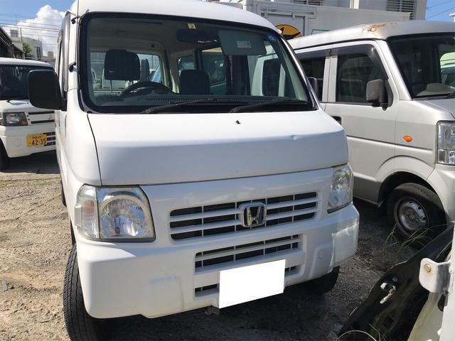 沖縄の中古車 ホンダ アクティバン 車両価格 19万円 リ済別 2010(平成22)年 12.3万km ホワイト