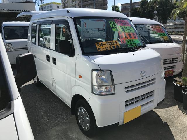 沖縄の中古車 マツダ スクラム 車両価格 27万円 リ済込 2014(平成26)年 14.3万km ホワイト
