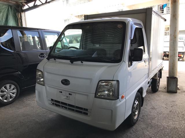 沖縄の中古車 スバル サンバートラック 車両価格 29万円 リ済込 2009(平成21)年 15.1万km ホワイト