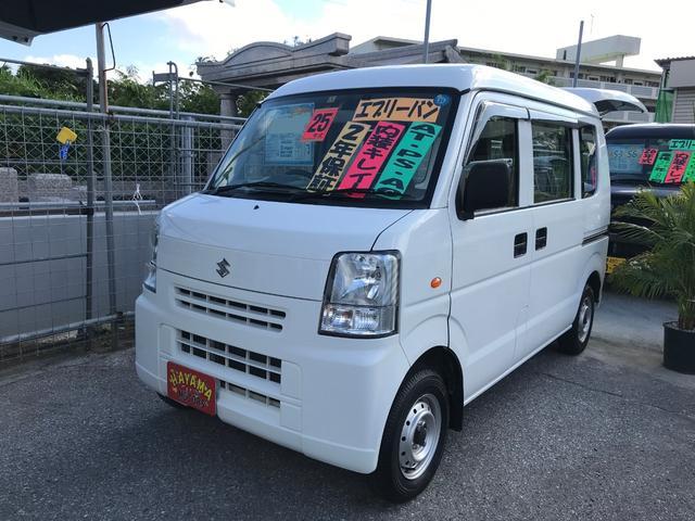 沖縄の中古車 スズキ エブリイ 車両価格 32万円 リ済込 2013(平成25)年 13.8万km ホワイト