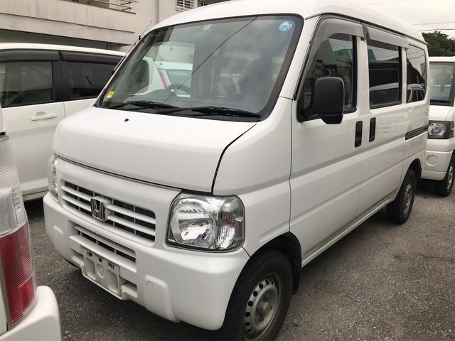 沖縄の中古車 ホンダ アクティバン 車両価格 21万円 リ済込 2013(平成25)年 22.6万km ホワイト