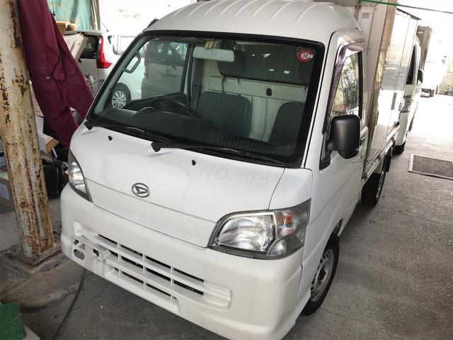 沖縄の中古車 ダイハツ ハイゼットトラック 車両価格 33万円 リ済込 2008(平成20)年 8.7万km ホワイト