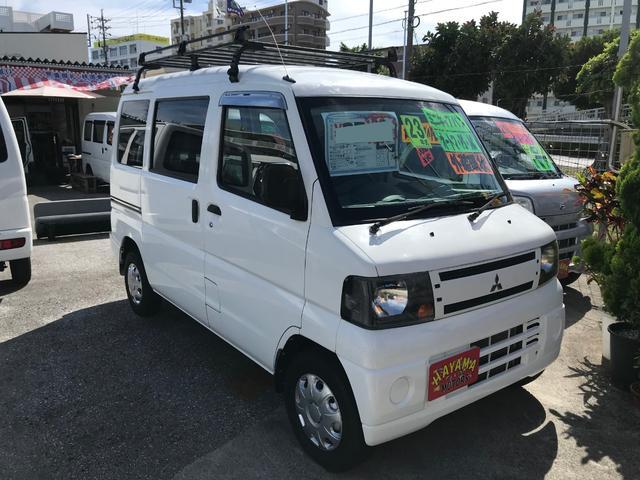 沖縄の中古車 三菱 ミニキャブバン 車両価格 23万円 リ済込 2011(平成23)年 10.5万km ホワイト