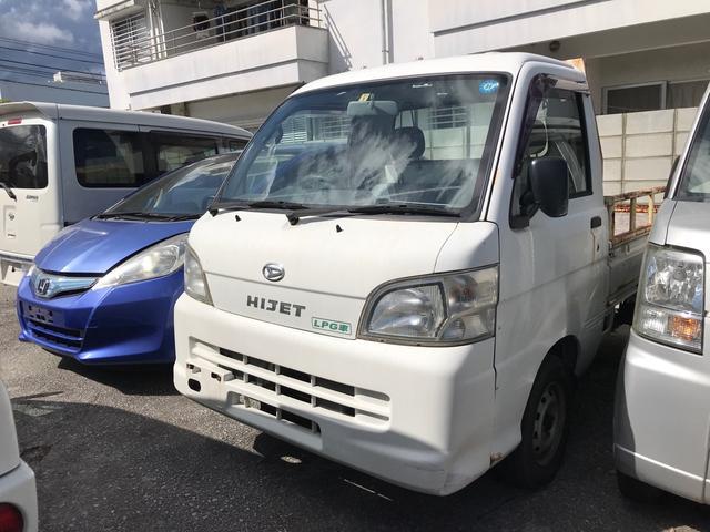 沖縄県沖縄市の中古車ならハイゼットトラック  LPG 5MT AC