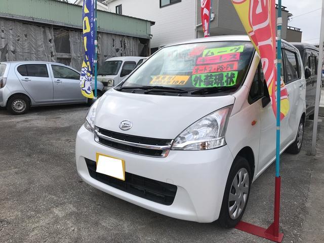 沖縄の中古車 ダイハツ ムーヴ 車両価格 17万円 リ済込 2012(平成24)年 23.4万km ホワイト