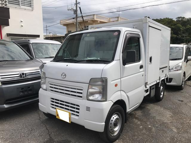 沖縄県の中古車ならスクラムトラック  5MT エアコン 冷凍車-5℃