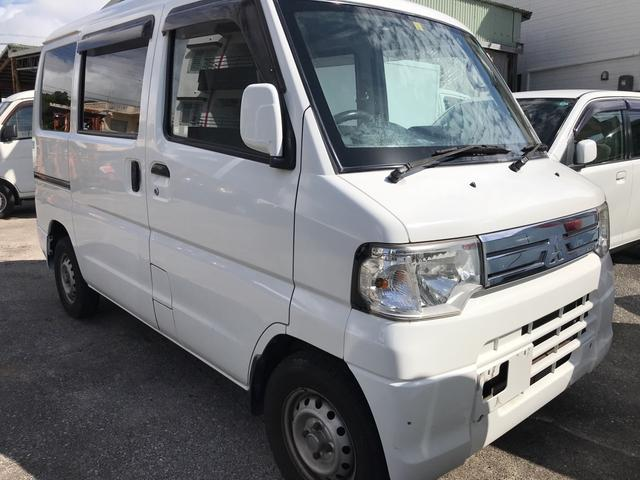 沖縄の中古車 三菱 ミニキャブバン 車両価格 29万円 リ済込 2013(平成25)年 10.4万km ホワイト