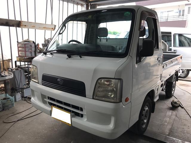 沖縄県沖縄市の中古車ならサンバートラック TB 5MT エアコン 2WD