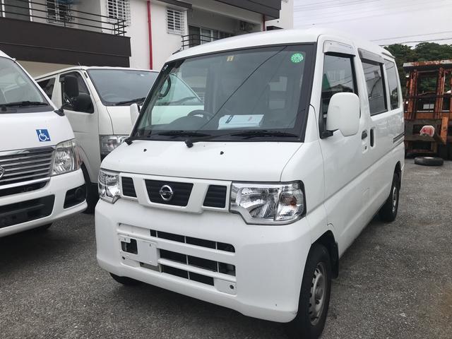 沖縄の中古車 日産 NV100クリッパーバン 車両価格 26万円 リ済込 2013(平成25)年 13.9万km ホワイト