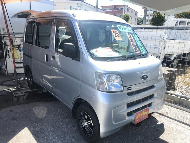 沖縄の中古車 スバル サンバーバン 車両価格 42万円 リ済込 2013(平成25)年 11.1万km シルバー