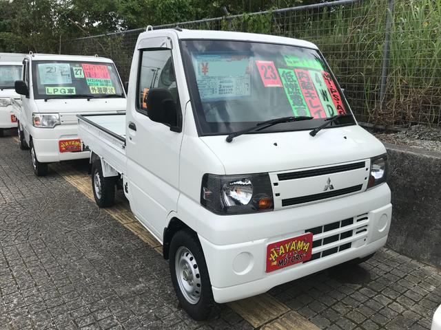 沖縄の中古車 三菱 ミニキャブトラック 車両価格 48万円 リ済込 2011(平成23)年 7.6万km ホワイト