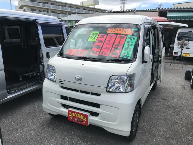 沖縄県の中古車ならハイゼットカーゴ クルーズ ターボ ナビ ETC