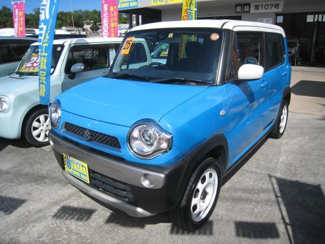 沖縄県の中古車ならハスラー G レーダーブレーキサポート