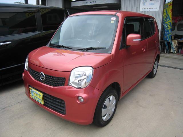 沖縄の中古車 日産 モコ 車両価格 43万円 リ済込 2012(平成24)年 8.1万km モコベリーPM
