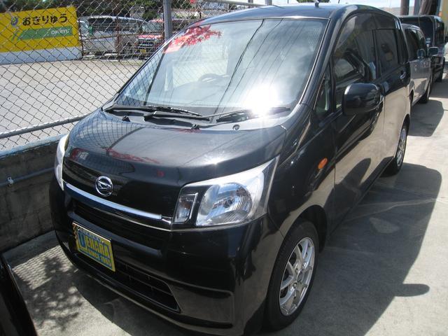 沖縄の中古車 ダイハツ ムーヴ 車両価格 39万円 リ済別 2013(平成25)年 8.2万km ブラック