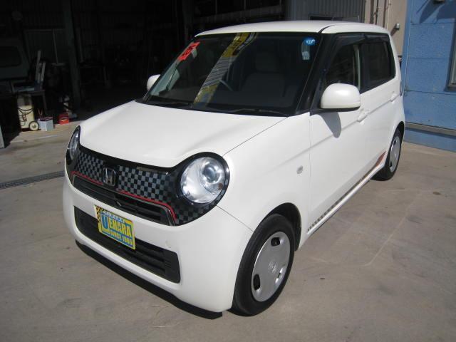 沖縄の中古車 ホンダ N-ONE 車両価格 49万円 リ済別 2013(平成25)年 8.8万km プレミアムホワイトパールII