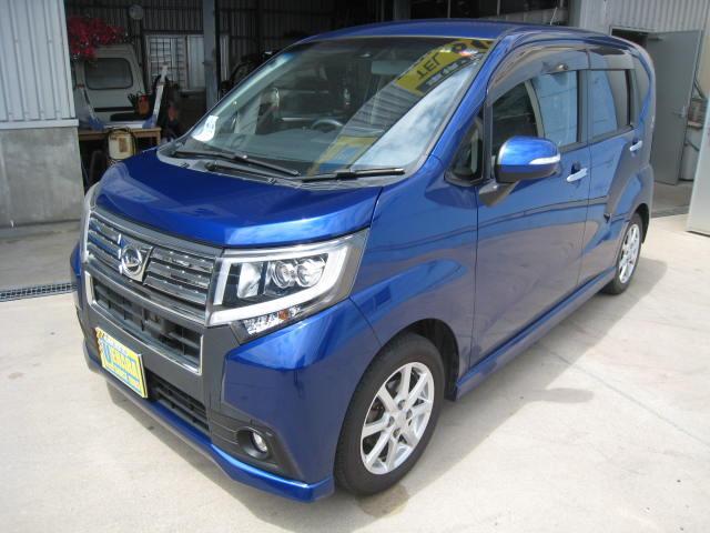 沖縄県沖縄市の中古車ならムーヴ カスタム X SAII フルセグTV・DVD・Bluetooth・バックカメラ