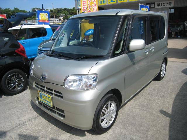 沖縄県の中古車ならタント X スマートキー パワースライドドア ナビ ワンセグTV バックカメラ