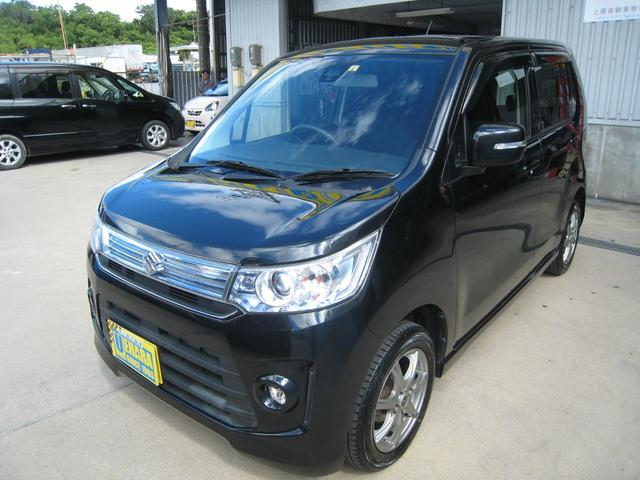 沖縄県沖縄市の中古車ならワゴンRスティングレー X ナビ・フルセグTV・DVD・Bluetooth