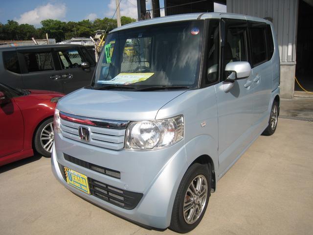 沖縄の中古車 ホンダ N-BOX 車両価格 52万円 リ済込 2012(平成24)年 10.2万km クールミストメタリック