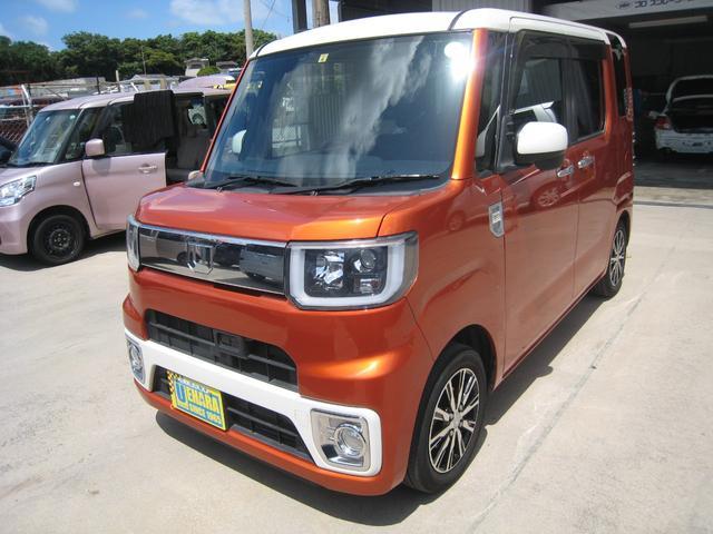 沖縄県沖縄市の中古車ならウェイク X ファインセレクションSA 純正8インチナビ・フルセグTV・DVD・Bluetooth・バックカメラ