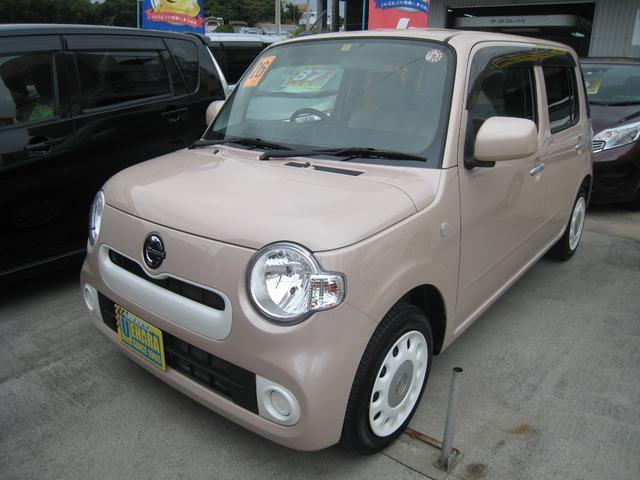 沖縄県の中古車ならミラココア ココアX 後期タイプ フルセグフルセグTV・DVD・Bluetooth・バックカメラ付
