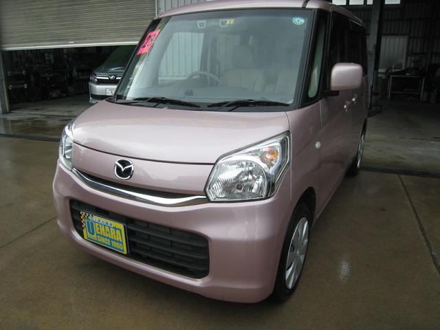 沖縄県の中古車ならフレアワゴン XS Sエネチャージ フルセグTV・DVD・Bluetooth 左パワースライドドア