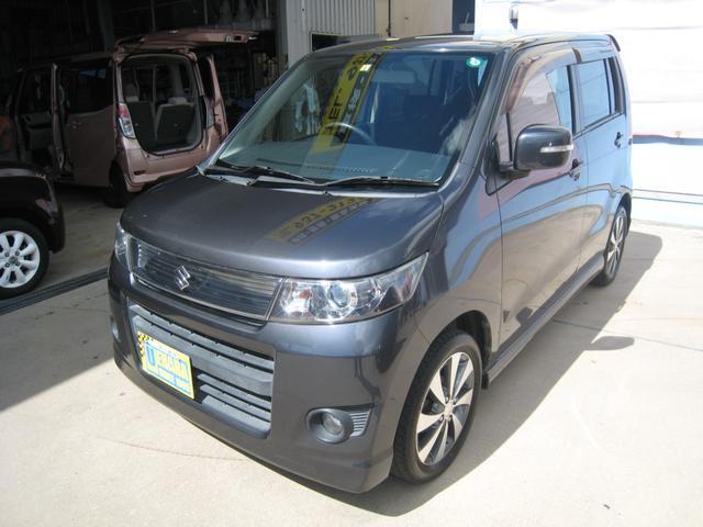 沖縄県の中古車ならワゴンRスティングレー リミテッドII 純正CD・AUX・バックカメラ