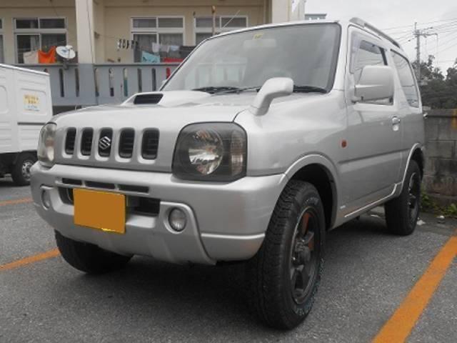 沖縄の中古車 スズキ ジムニー 車両価格 39万円 リ済込 平成11年 14.2万km シルバー