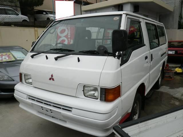 沖縄県の中古車ならデリカバン 4WDロングGLターボ