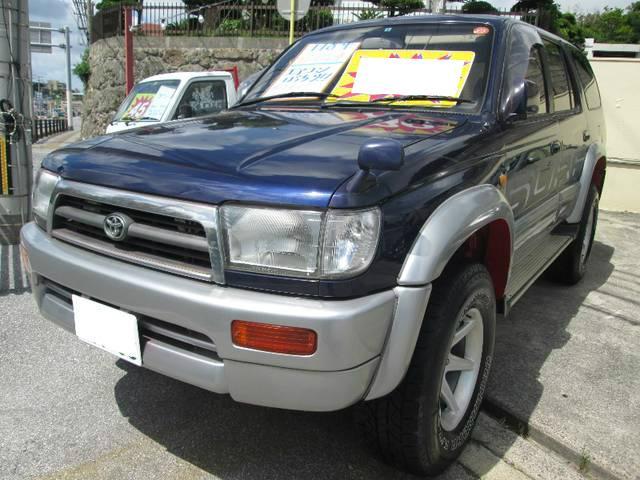 沖縄県の中古車ならハイラックスサーフ SSR-G ワイド