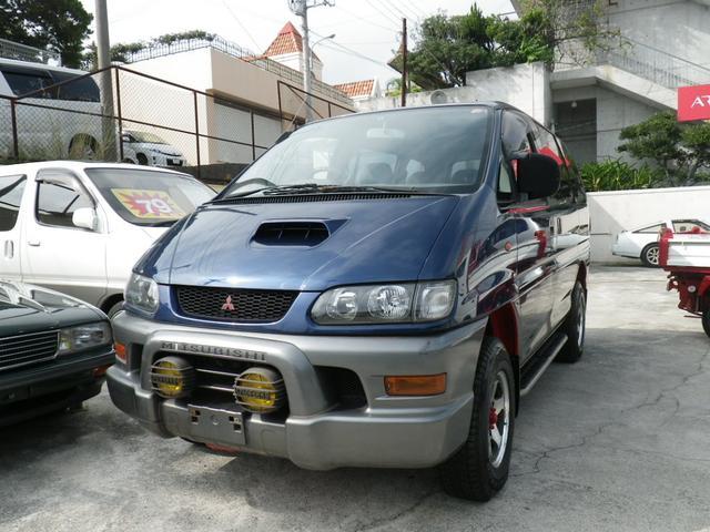 沖縄県の中古車ならデリカスペースギア XE 5ドア ディーゼルターボ 4WD