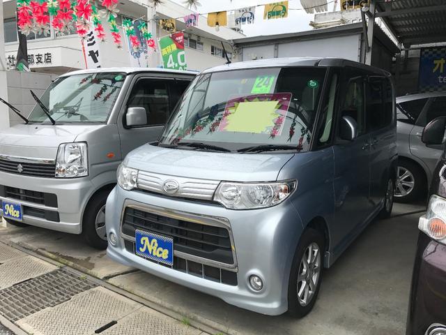 沖縄の中古車 ダイハツ タント 車両価格 72万円 リ済込 2012(平成24)年 6.9万km シルバー