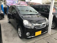 沖縄の中古車 ダイハツ ミライース 車両価格 ASK リ済込 平成24年 8.2万K ブラック