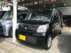 沖縄の中古車 スズキ スペーシア 車両価格 75万円 リ済込 平成25年 6.9万K ブルーイッシュブラックパール3
