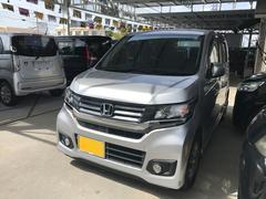 沖縄の中古車 ホンダ N−WGNカスタム 車両価格 84万円 リ済込 平成26年 5.4万K シルバー